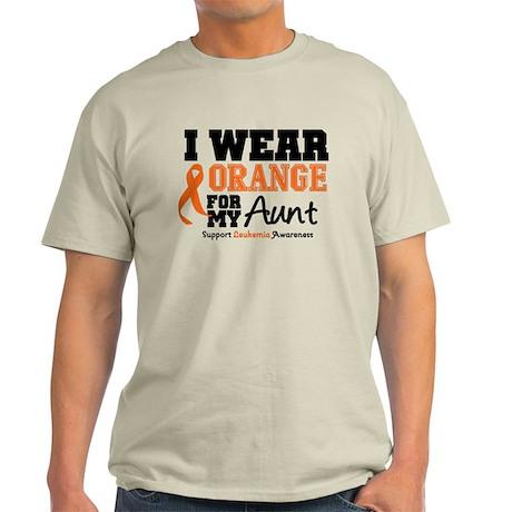 I Wear Orange Aunt Light T-Shirt