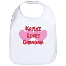 Kaylee Loves Grandma Bib