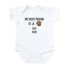 My best friend is a KAI KEN Infant Bodysuit