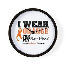 IWearOrange Best Friend Wall Clock