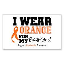 IWearOrange Boyfriend Rectangle Sticker 10 pk)