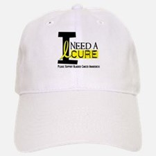 I Need A Cure BLADDER CANCER Baseball Baseball Cap