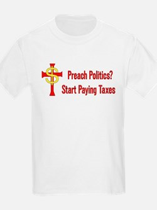 Tax Political Churches T-Shirt