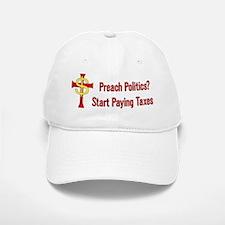 Tax Political Churches Baseball Baseball Cap