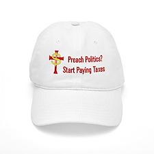 Tax Political Churches Baseball Cap