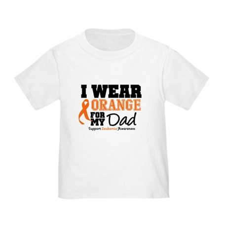 IWearOrange Dad Toddler T-Shirt