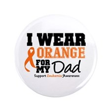 "IWearOrange Dad 3.5"" Button (100 pack)"