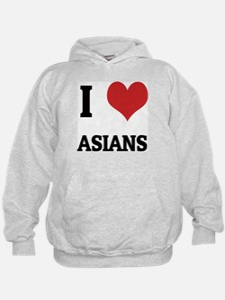 I Love Asians Hoodie