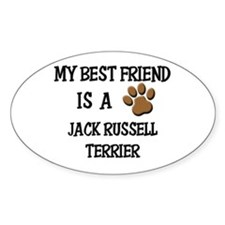 My best friend is a JACK RUSSELL TERRIER Decal