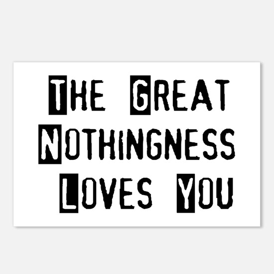Great Nothingness Loves You Postcards (Package of