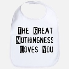 Great Nothingness Loves You Bib