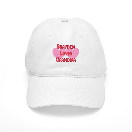 Brayden Loves Grandma Cap