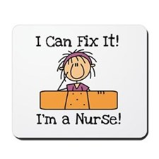Fix It Nurse Mousepad