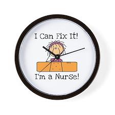 Fix It Nurse Wall Clock