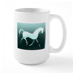 aqua horse 1. Mug