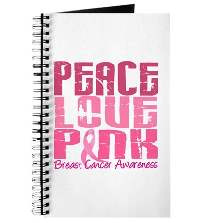 PEACE LOVE PINK Journal