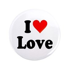 """I Heart Love: 3.5"""" Button (100 pack)"""