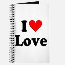 I Heart Love: Journal