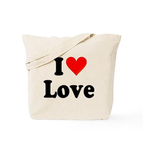 I Heart Love: Tote Bag