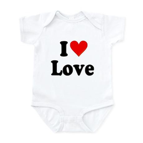 I Heart Love: Infant Bodysuit