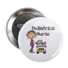 "Pediatrics Nurse 2.25"" Button (10 pack)"