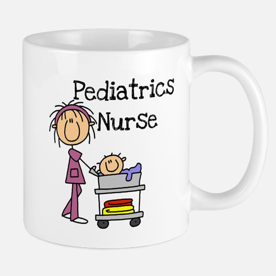 Pediatrics Nurse Mug