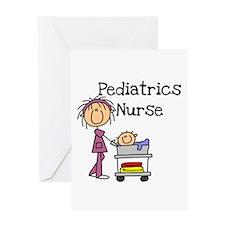 Pediatrics Nurse Greeting Card