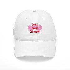 Owen Loves Grandma Baseball Cap