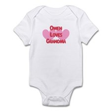Owen Loves Grandma Infant Bodysuit