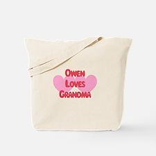 Owen Loves Grandma Tote Bag