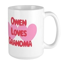 Owen Loves Grandma Mug