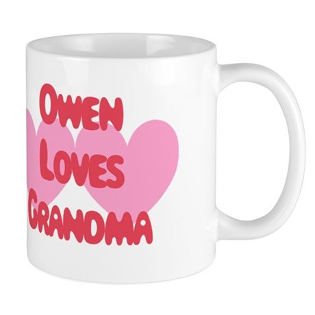 Owen Loves Grandma Mug