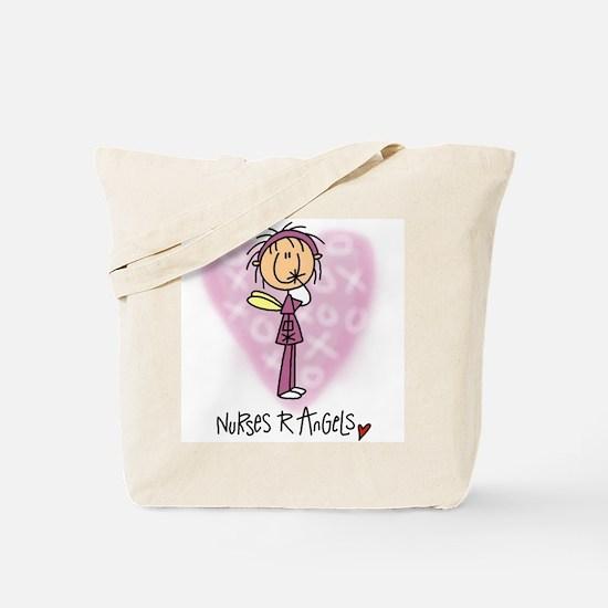 Nurses R Angels Tote Bag