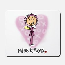 Nurses R Angels Mousepad