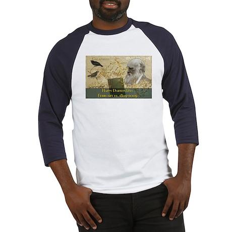darwindayposter17x11 Baseball Jersey