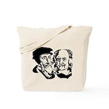 John Calvin and Hobbes Tote Bag