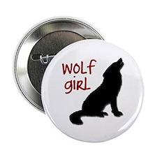 "Wolf Girl 2.25"" Button"