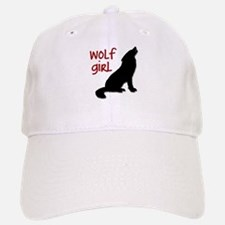 Wolf Girl Baseball Baseball Cap