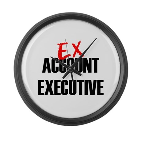 EX Account Executive Large Wall Clock