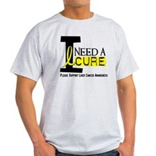 I Need A Cure LIVER CANCER T-Shirt