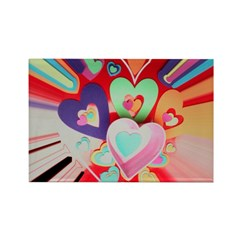 valentines 2 Rectangle Magnet