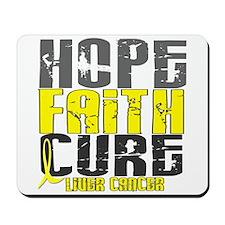 HOPE FAITH CURE Liver Cancer Mousepad