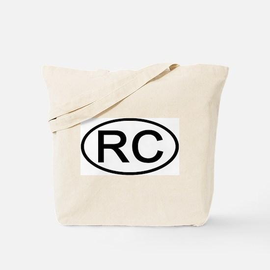 China - RC - Oval Tote Bag