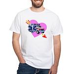 EMS Care Heart White T-Shirt