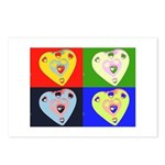 hearts Postcards (Package of 8)