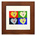 hearts Framed Tile