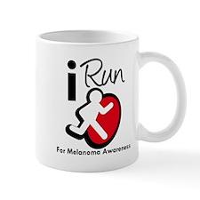 I Run MelanomaAwareness Mug