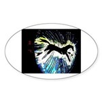 Oval Sticker (50 pk)