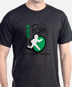 I Run For Liver Cancer T-Shirt