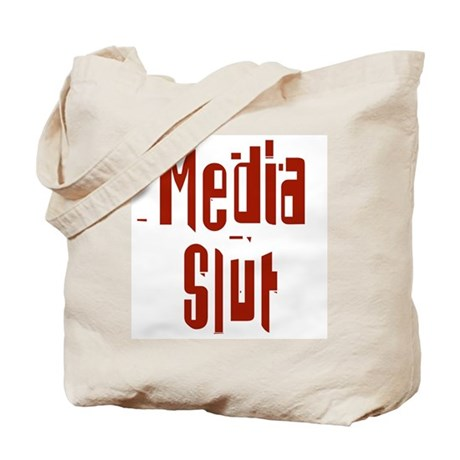 Media Slut Tote Bag